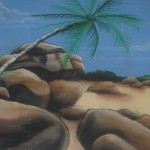 thematique_tropicale_murale-beach-rochers
